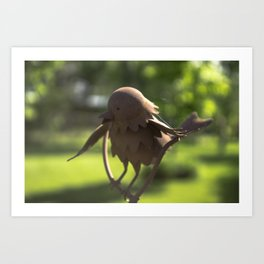 Iron Bird Art Print