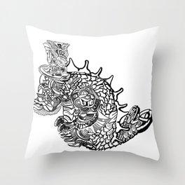 Underseadweller Throw Pillow