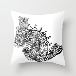 Underseadweller Throw Pillow
