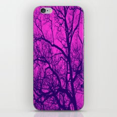 Pink and Blue Tree iPhone & iPod Skin