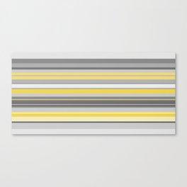 yellow and grey horizontal Canvas Print