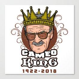 Cameo King Canvas Print
