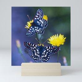 The Checkerspot Couple Mini Art Print