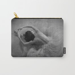In the Moment...ballerina posing. Carry-All Pouch