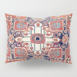 Heriz Azerbaijan Northwest Persian Rug Print Pillow Sham