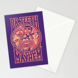 Electric Mayhem Stationery Cards