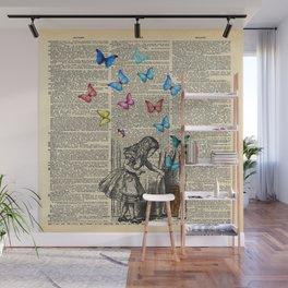 Alice In Wonderland - Let The Adventure Begin Wall Mural