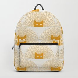 Good Meowning Pattern Backpack