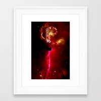universe Framed Art Prints featuring Universe by Fine2art