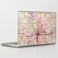 atlanta Laptop & iPad Skins featuring Atlanta by MapMapMaps.Watercolors