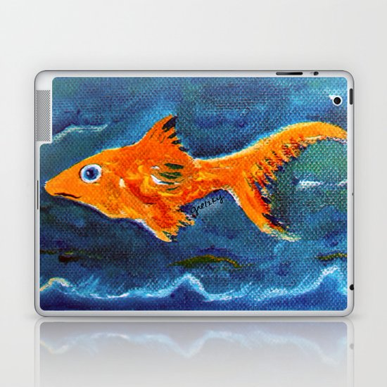 Goldfish 2 Laptop & iPad Skin