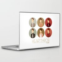 tegan and sara Laptop & iPad Skins featuring Tegan and Sara: Heartthrob collection by Cas.