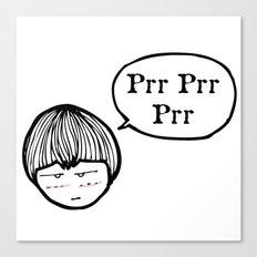 Prrrr Canvas Print