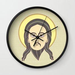 jesus icon Wall Clock