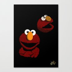 Elmo Studio Portrait Canvas Print