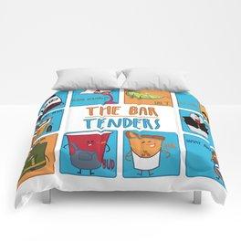 The Bar Tenders Licensing Poster Comforters