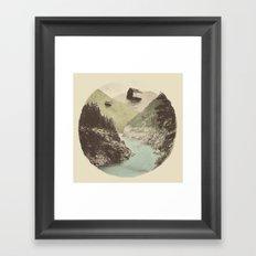 Antigravity (Circle) Framed Art Print
