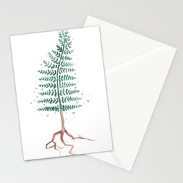 Pine tree Stationery Cards
