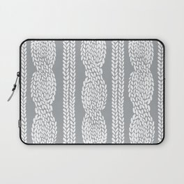 Cable Grey Laptop Sleeve