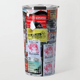 Street Art Barcelona Travel Mug