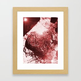 My Chocolate Caged Heart Framed Art Print