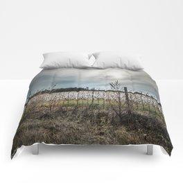 Florida Cotton Fields  Comforters