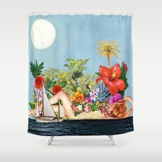 Siren Island Shower Curtain