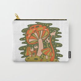 Forest of Mushrooms Carry-All Pouch