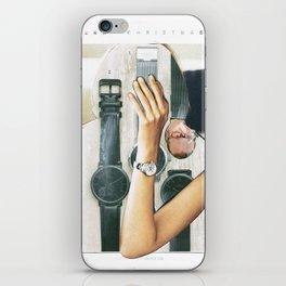 Was wird die Zukunft - der Weihnachtsmann - bringen??? iPhone Skin