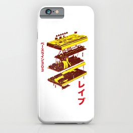 Acid Synth - Analog Japanese Synthesizer 303 design iPhone Case