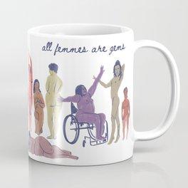 All Femmes are Gems Coffee Mug