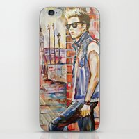 niall iPhone & iPod Skins featuring Niall by Iván Gabela