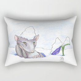 First Day of Spring Rectangular Pillow