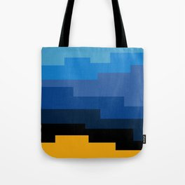 Summer 2016 In Blue Tote Bag