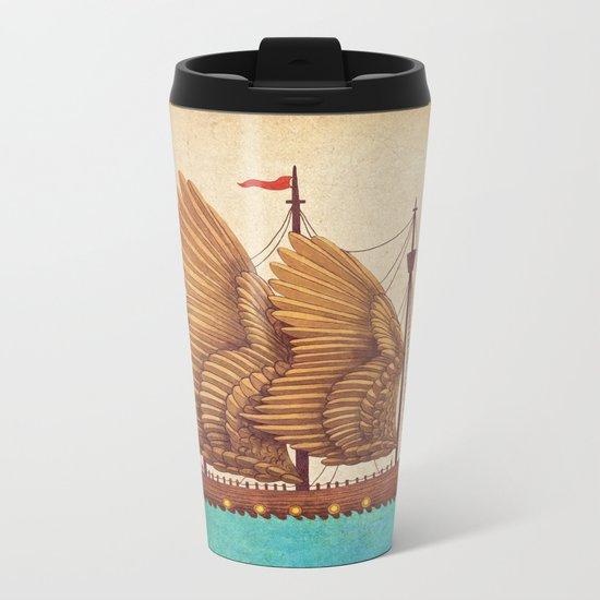 Winged Odyssey Metal Travel Mug