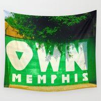 memphis Wall Tapestries featuring OWN Memphis by John Weeden