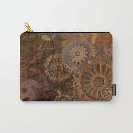 Changing Gear - Steampunk Gears & Cogs Carry-All Pouch