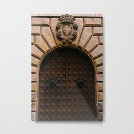 Barcelona Doors Metal Print