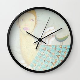Gestation III Wall Clock