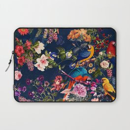 FLORAL AND BIRDS XII Laptop Sleeve