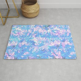 Funky Retro Abstract Rug