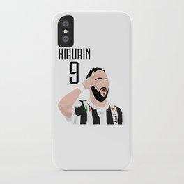 Higuain - Juventus iPhone Case