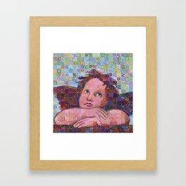 Sistine Cherub No. 2 Framed Art Print