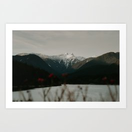 Mountains of BC Art Print