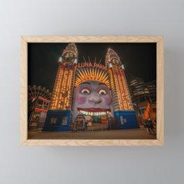 Luna Park, Sydney Framed Mini Art Print