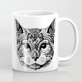 Cat Head Coffee Mug