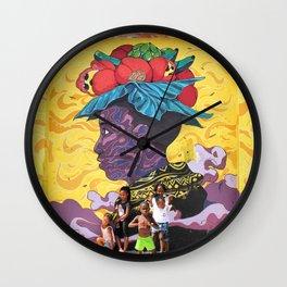 Indigo Child / 41 Fleet St  Wall Clock