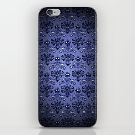 Beauty Haunted Mansion Wallpaper Stretching Room iPhone Skin