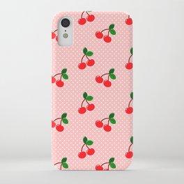 Cherry Bon Bon iPhone Case