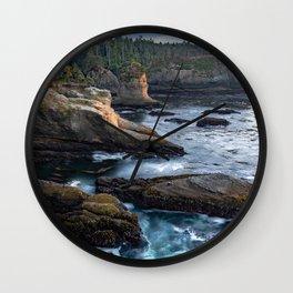 Cape Flattery Wall Clock